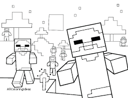Coloring Pages Minecraft Coloring Sheets Free Printable Pages