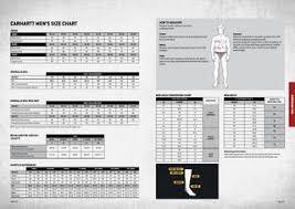 Carhartt Size Chart Mens Carhartt Workwear Europe Winter 2014 By Carhartt Europe Issuu