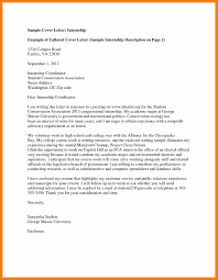 Ideas Collection Cover Letter For Political Internship Examples