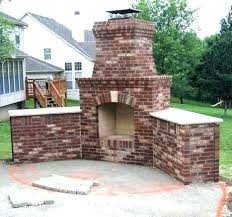 astounding outdoor brick fireplace backyard brick fireplace outdoor brick fireplaces backyard brick fireplace plans outdoor brick