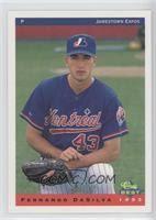 Fernando Dasilva Baseball Cards