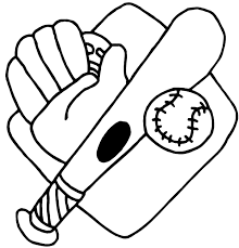 Baseball And Bat Drawing At Getdrawingscom Free For Personal Use