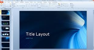 Tunnel Template for Microsoft PowerPoint 2013