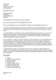 Ideas Of School Secretary Cover Letter Attached Important Formats