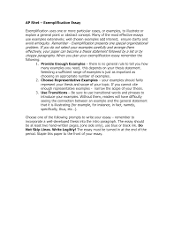 exemplification essay samples sample exemplification essay topics