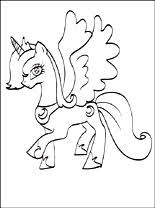 Small Picture Princess Luna coloring page Coloring pages