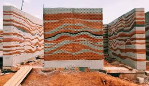rammed earth housing from eco friendly
