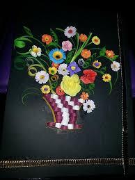 Paper Quilling Flower Baskets Paper Quilling Rose Flower Basket Traffic Club