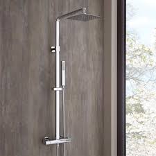 Quadratische Duschsäule Mit Handbrause Surge