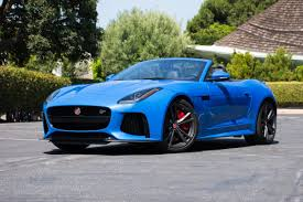 Drivin' L.A. with Andrew Chen: 2017 Jaguar F-Type SVR Convertible ...