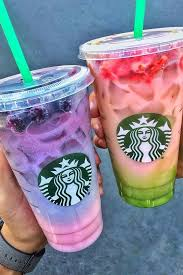starbucks drinks secret menu. Unique Starbucks New Starbucks Secret Menu Alert Hereu0027s How To Order The 2Toned Pink  Purple Drink For Drinks I