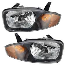 Amazon.com: Driver and Passenger Headlights Headlamps Replacement ...