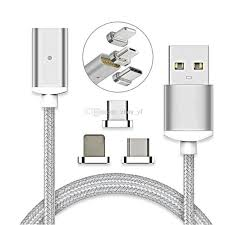 <b>Magnetic</b> Charging Cable Micro USB Cable <b>Nylon Braided High</b> ...