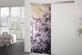 spring glass sliding door