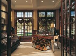 Home office study Interior Design Home Office With Large Windows House Plans And More Home Plans With An Office Study Or Den House Plans And More