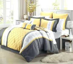 grey and yellow duvet cover impressing bedroom guide the best