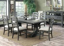 distressed dining table set rustic round dining table set distressed dining room