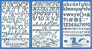 Templates Alphabet Letters Aleks Melnyk 34 Metal Journal Stencils Alphabet Letter Number Abc Stainless Steel Stencils Kit 3 Pcs Templates Tool For Wood Burning Pyrography And