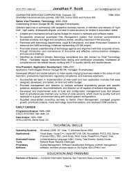Gallery Of Example It Resume