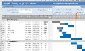Basic Gantt Chart Example Free Gantt Chart Template For Excel