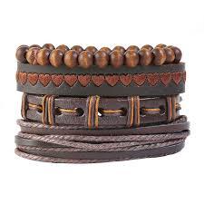 handmade personal diy style leather bracelet europe hot ing vintage men s leather jewelry stocks fashion bracelet