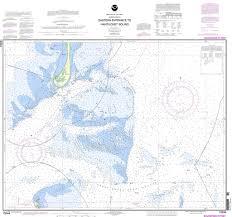 Noaa Chart 13244 Eastern Entrance To Nantucket Sound