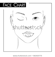 Vector Images Illustrations And Cliparts Face Chart