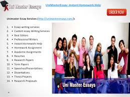 best custom academic essay writing services available at unimasteress  research proposals unimasteressay instant homework help 3