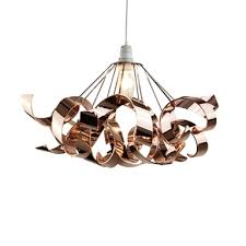 sputnik ribbon easy fit pendant light