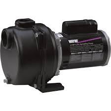 wayne self priming centrifugal cast iron lawn sprinkler water pump wayne self priming centrifugal cast iron lawn sprinkler water pump 4350 gph 1
