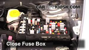 blown fuse check 2014 2016 jeep cherokee 2014 jeep cherokee 6 replace cover secure the cover and test component