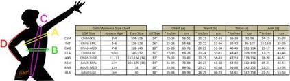 Leotard Size Chart Leotard Size Chart Google Search Womens Size Chart Size