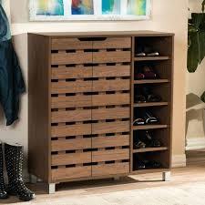 best shoe cabinets images on dark brown entryway walnut medium brown wood 2 door shoe cabinet