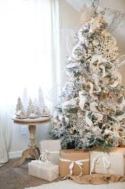 Part 1: How To Decorate Your Christmas Tree With Ornaments and Trimmings. Christmas  Tree RibbonWhite ...