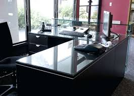glass desk cover image of tempered glass table top plastic glass desk cover