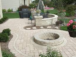 paver fire pit designs inspirational elegant fire pit pavers home depot round stepping stones home depot
