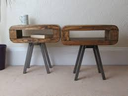 side tables or bedside tables retro