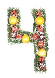 4u0027 PreLit Artificial Christmas Tree Silver Tinsel  Clear Lights 4 Christmas Trees