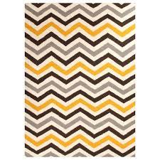 chevron runner rug yellow — prefab homes  cool chevron runner rug