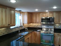 Recessed Kitchen Cabinets Installing Recessed Lighting In Kitchen Cabinets Cliff Kitchen