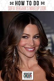 do you fancy sofia vergara s look learn how to get the sofia vergara look with smokey eyes pink lips and glowing cheeks in this makeup tutorial