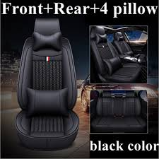 front rear leather car seat cover for toyota pruis hilux fj cruiser crown yaris lc prado venza zelas vios auris matrix corolla