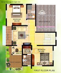 2000 square feet stylish house plans