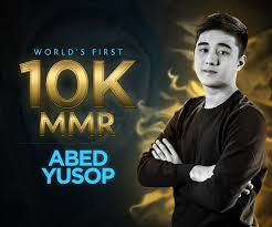 congratulations to abed on reaching 10k mmr world s no 1 dota 2