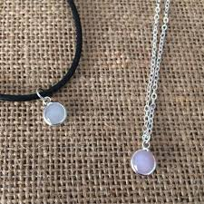 whole white glass jewelry clear choker necklace with glass pendant necklace for women number pendant necklace stone pendant necklace from yfs