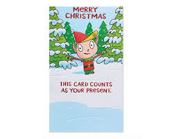 Gift Cards For Christmas Funny Present Money And Gift Card Holder Christmas Card
