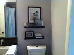 cabinets over toilet in bathroom. small bath/main floor- best features bathroom shelving over toilet cabinets in