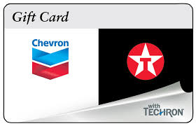 10 25 50 chevron texaco gas physical gift card 1st cl mail delivery ebay