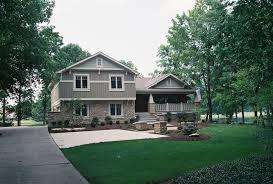 image split level house style design remodeling side plans