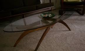 mid century modern coffee table legs wonderful brown